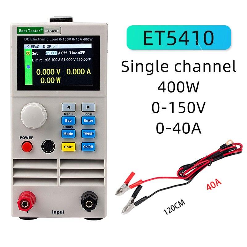 ET5410 нагрузки Профессиональный программируемый DC Электрическая нагрузка цифровой контроль DC нагрузки электронный тестер нагрузки батареи ...