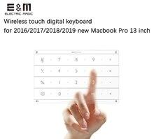 Ultra Ince Kablosuz Akıllı Dijital Dokunmatik Klavye TouchPad 2016 2017 2018 2019 Macbook Pro 13 Inç Dizüstü Bilgisayar