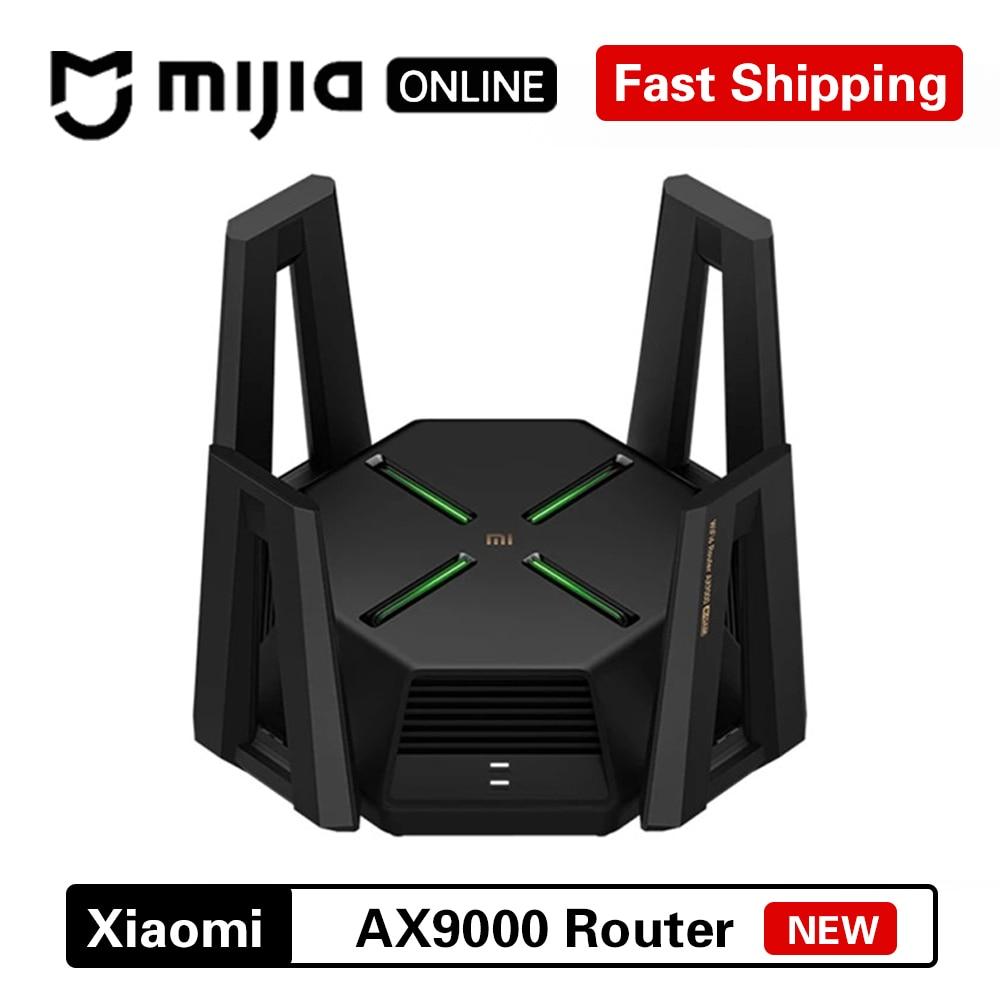 Xiaomi Mi AX9000 Wi-Fi маршрутизатор 6 5G WPA3 ретранслятор Wifi удлинитель USB3.0 Enhanced Edition Tri-Band Gigabit внешний усилитель сигнала