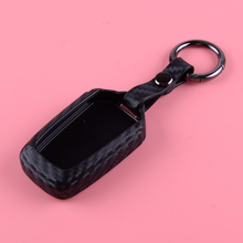 CITALL Black Silicone Carbon Fiber Texture Car Smart Remote Key Case Shell Cover Protector Fit For Isuzu D-Max MU-X 2017-2019