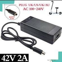 42V 2A najniższa cena ładowarka elektryczna ładowarka do Xiaomi Mijia M365 Ninebot Es1 Es2 akcesoria do skuterów elektrycznych ładowarka