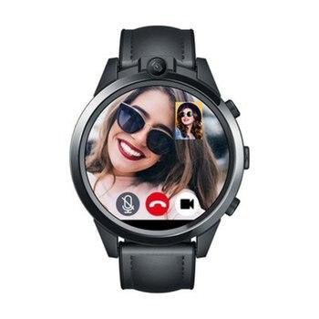 Flagship Zeblaze THOR 5 PRO SmartWatch 4G LTE 3GB+32GB Dual Camera Face Unlock Ceramic Bezel Quad Core Sport Smart Watch