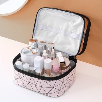 Multifunction Travel Clear Makeup Bag Fashion Diamond Cosmetic Bag Toiletries Organizer Waterproof Females Storage Make Up Cases 3