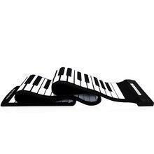 USB wysokiej jakości 88 klawiszy MIDI zawijane elektroniczne pianino Keyboard silikonowe elastyczne profesjonalne elektroniczne organki klawiatura MIDI