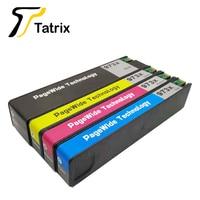 Substituição compatível do cartucho de tinta de tatrix para hp973 hp973x para pagewide pro 452dn dw 477dn dw 552dw 577dw z gerenciado p55250dw
