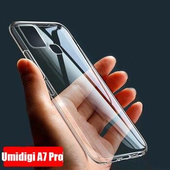 Перейти на Алиэкспресс и купить Чехол UMIDIGI A7 Pro для UMIDIGI F2 X S5 A5 PRO POWER 3 A3S A3X A3 ультратонкий прозрачный мягкий ТПУ чехол для UMIDIGI X Couqe Funda