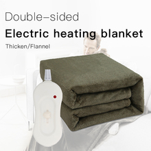Warming Blanket Electric Blanket Pure American Standard 110V Foreign Trade Thickened Flannel Electric Heating Blanke