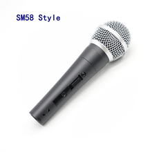 SM Cổ Điển Viên 57 Truyền Thống Sm58sk Có Dây Cầm Tay Thanh Nhạc Hát Karaoke Micro Điện Động Có Công Tắc