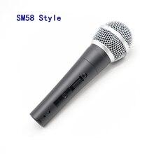 SM classic 58 57 traditionnel sm58sk filaire karaoké vocal portable chantant microphone dynamique avec interrupteur