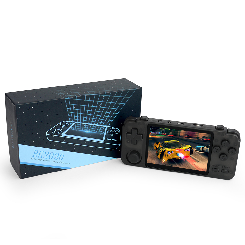 Новый RK2020 ретро игровой консоли сенсорный IPS портативных игровых консолей поддержка mp4 MP5 плееры игры консоли видео для подарка на PSP с PS1 N64 на данный момент ребенок