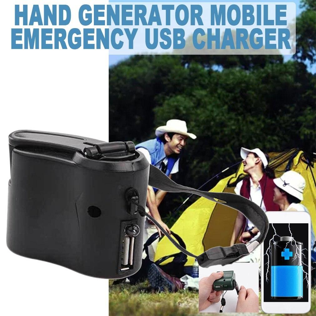 Мобильный телефон Аварийная мощность USB зарядное устройство с Динамо-машиной Электрический Генератор универсальный мобильный заряд ручная Динамо-машина зарядки