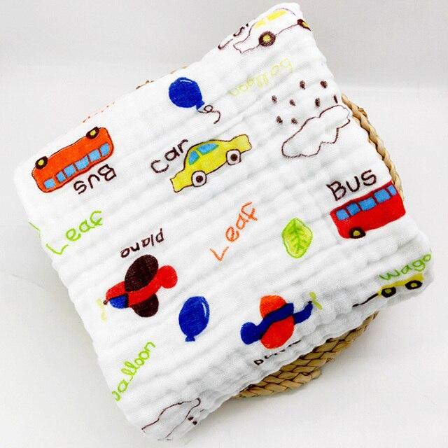 cotton baby bath towel cars