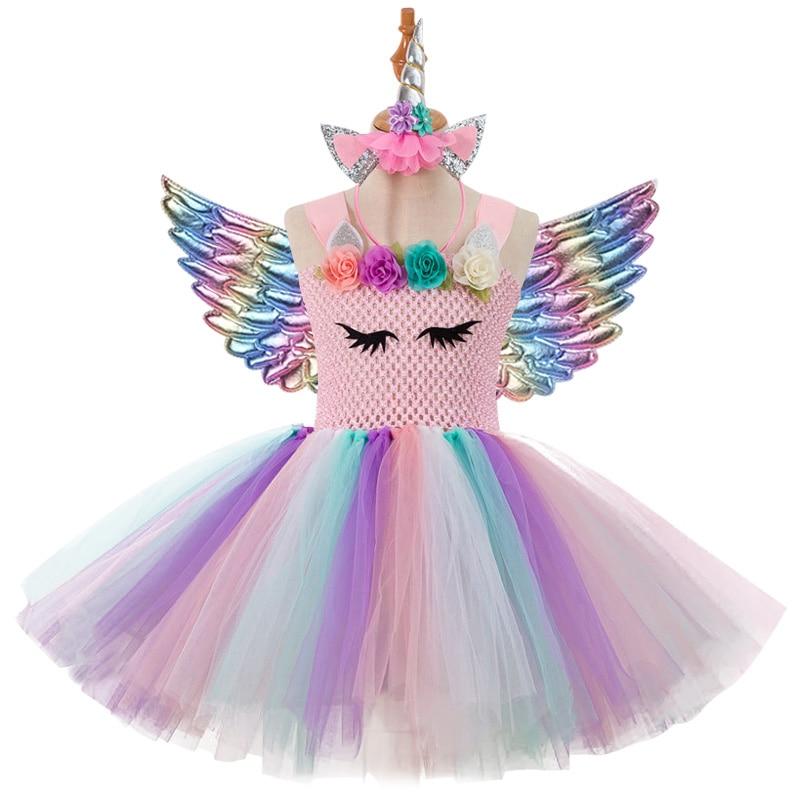 Tüdrukute Ükssarvik kostüüm 5