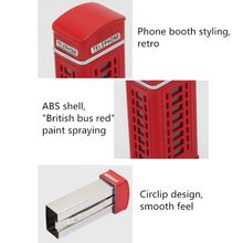 Outdoor Portable Ashtray Telephone Booth Retro Style Cigarette Smoking Ash Tray