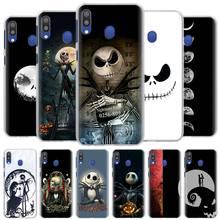 Jack Skellington antes de Navidad, cajas del teléfono para Samsung Galaxy A10 A20e A30 A40 A50s A60 A70 A80 A6 A7 A8 a9 2018 cubierta dura