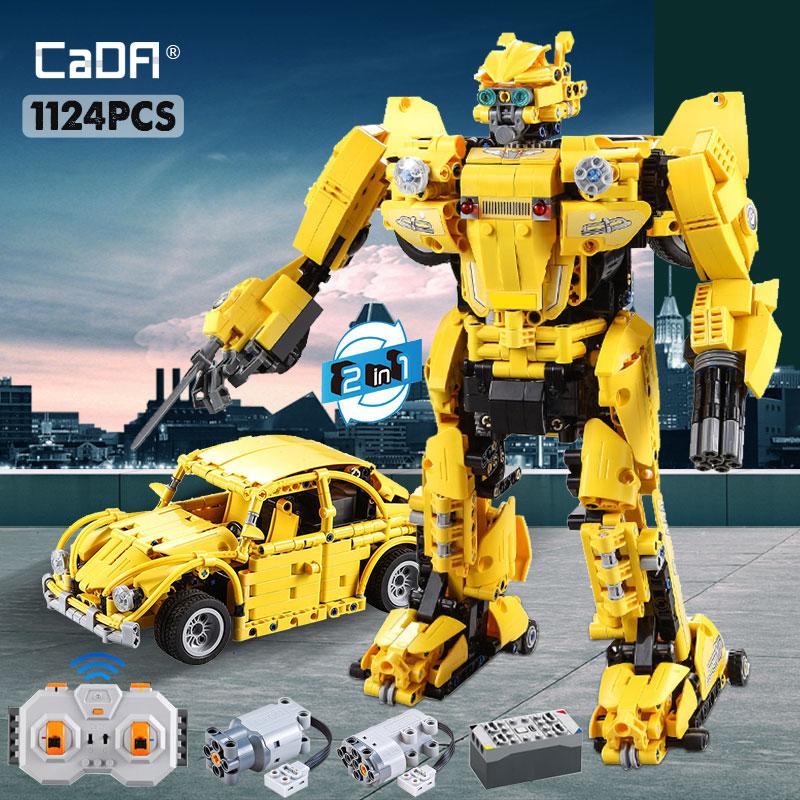 Cada Technical Robot Blocks RC Deformation Car