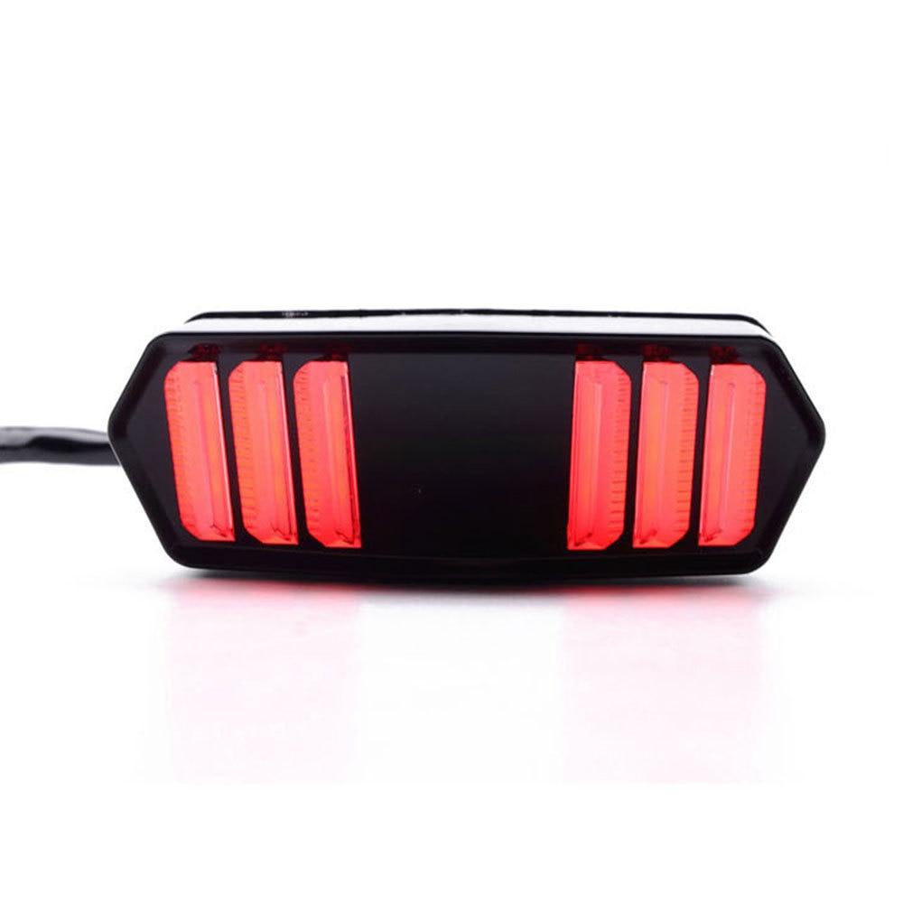 DJSona 12V LED Motorcycle Rear Taillight Light Flash Tail Brake Turn Signals Indicator Lamp Brake Light Lamp for Honda|  - title=