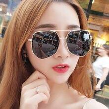 Новые модные крутые солнцезащитные очки в форме многоугольника