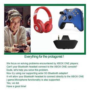 Image 3 - Wireless Bluetooth Headset Adapter 3.5mm Headphone Converter for XBox One Game Controller