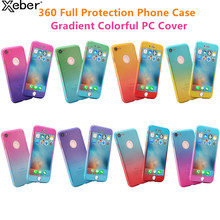 360 Full Protection Phone Case For iPhone 6 6s 7 8 Plus Tempered Glass Cover For iPhone 11 Pro XS Max X XR Shockproof Shells Bag(China)