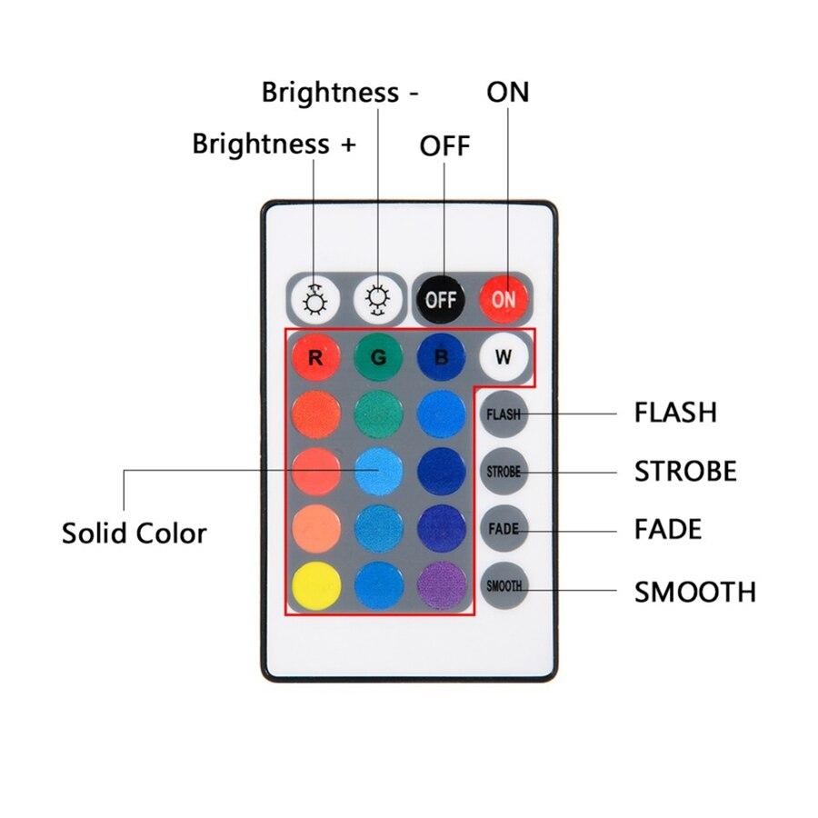 Luz submersível com 10 leds, luz para