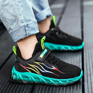 Image 1 - Kids Running Shoes Boys Basket Sneakers Men Sports Shoes For Girls Breathable Trainers Children Walking Jogging Hombre Footwear
