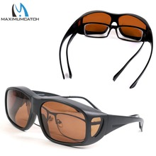 Maximumcatch Fit Fishing Sunglasses Clip On Polarized Sunglasses for Outdoor