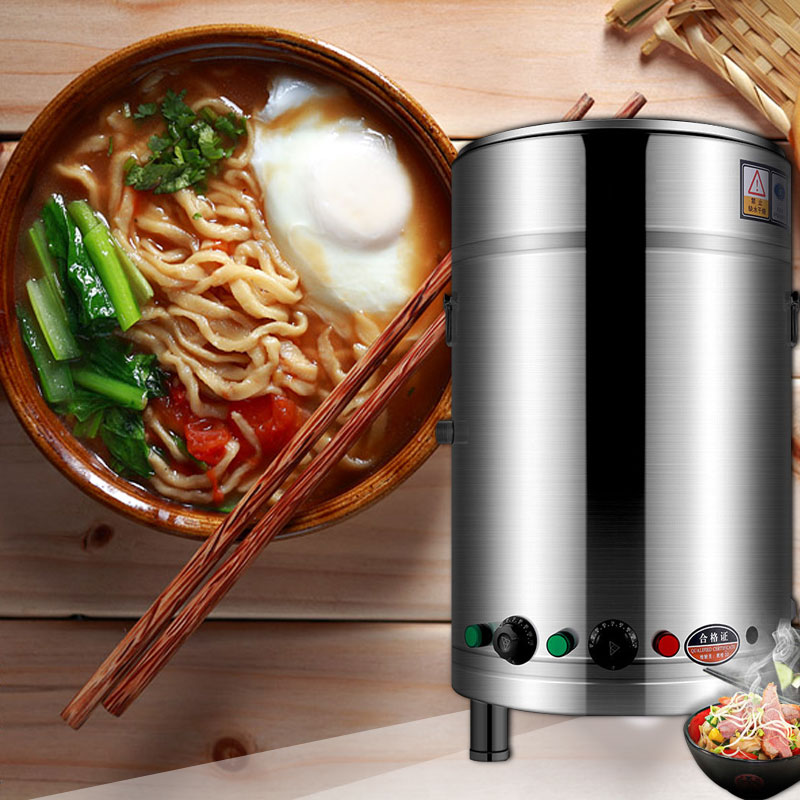 220V/380V Electro-thermal Energy Saving Cooking Noodle Commercial Cooking Noodle Stainless Steel Soup Stove