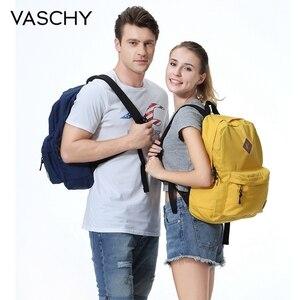 Image 5 - VASCHY גברים נשים תרמיל מכללת גבוהה בית ספר שקיות עבור נער ילד בנות נסיעות תרמילי המוצ ילה תרמילי