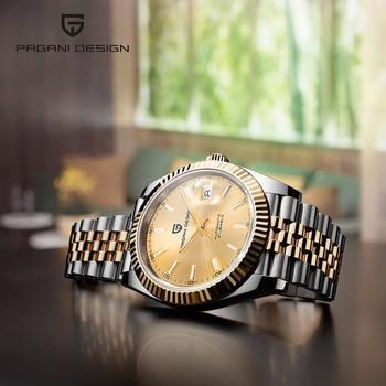Mens Watches PAGANI DESIGN Top Brand Luxury Mens Watches NH35 Watch men Mechanical Automatic Wristwatch relogio masculino 2020