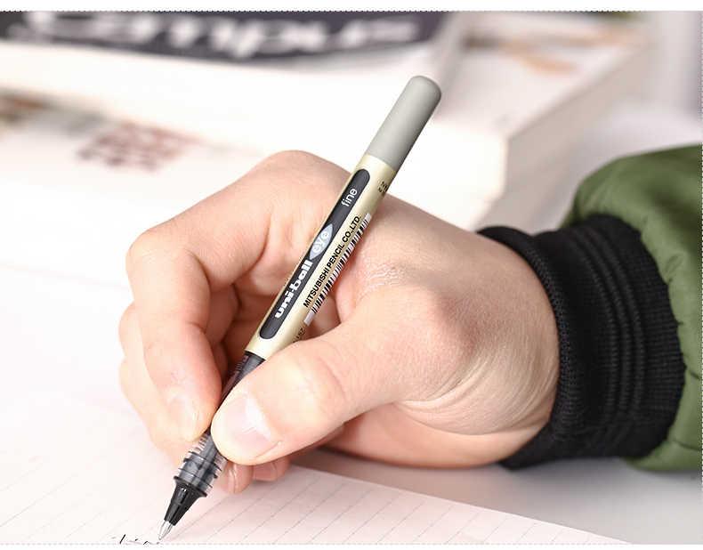 1pc japonia UNI Gel Pen UB-157 prosto płynne pióra kulkowe 0.7mm niebieski/czarny/czerwony uczeń pisanie biznes materiały biurowe