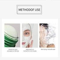 Green Tea Mud Mask Stick Oil Control Eggplant Acne Deep Cleaning Mask Skin Care Moisturizing Remove Blackhead Fine Pores Mask 5