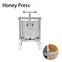 Honey Presser Beeswax Extractor Beekeeping Machine Making with 20L Keg and 10L Stainless Steel Strainer недорого