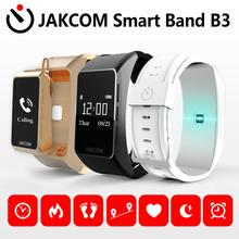 JAKCOM B3 Smart Watch For men women  4 nfc smart watch oxygenmeter solar band ecg i north edge dt no 1 no 1 s9 nfc smart watch with leather strap brown