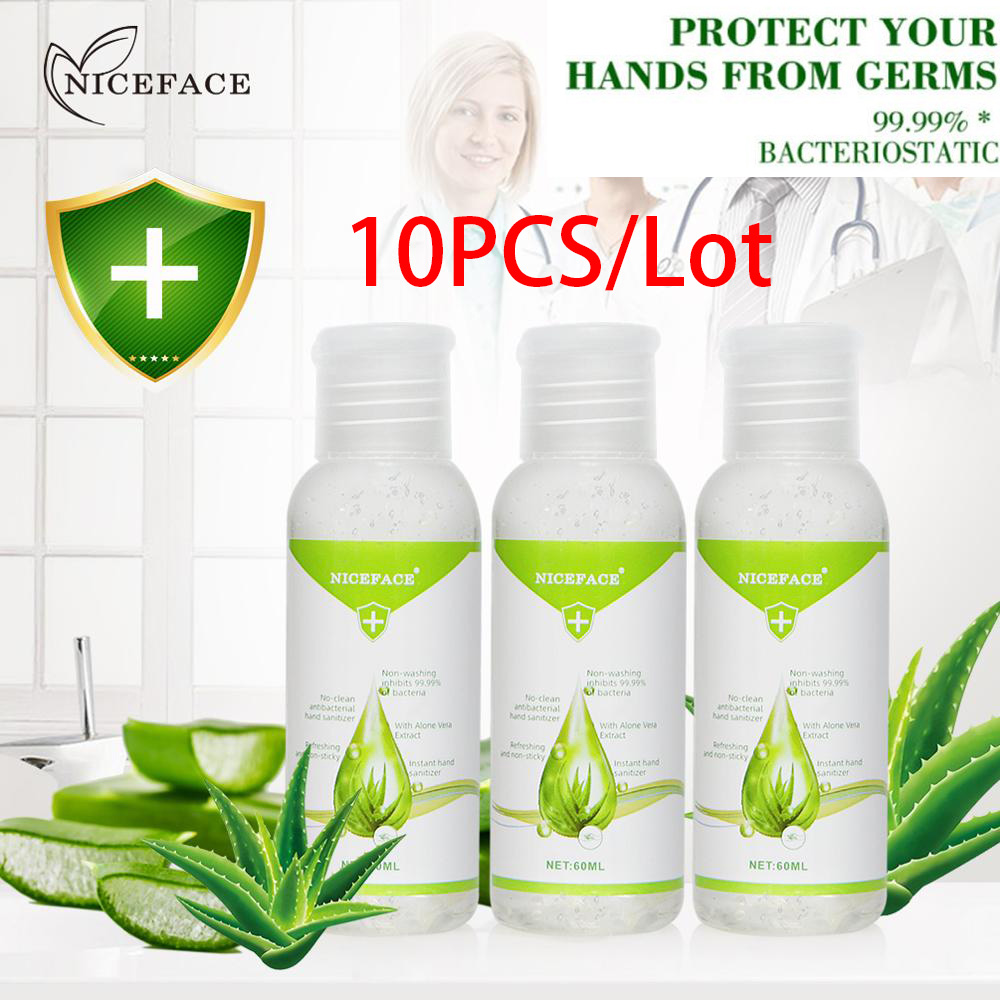 Available 10PCS/Lot 75% Alcohol Hand Sanitizer Non-washing Antibacterial Disposable Disinfection Quick-Dry Moisturizing Hand Gel