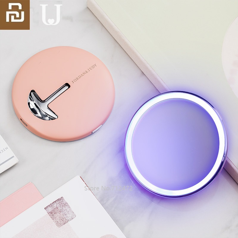 Youpin Makeup Mirror With LED Light Touch Dimmer Vanity Mirror Lamp Fill Lights Cosmetic Tool For Live Broadcast