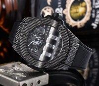 Top Luxus Marke Einzigartige Mens Fashion Mens Uhr Automatische Bewegung Luxus Sport herren Business Uhr Automatische Datum Mechanische Uhren    -