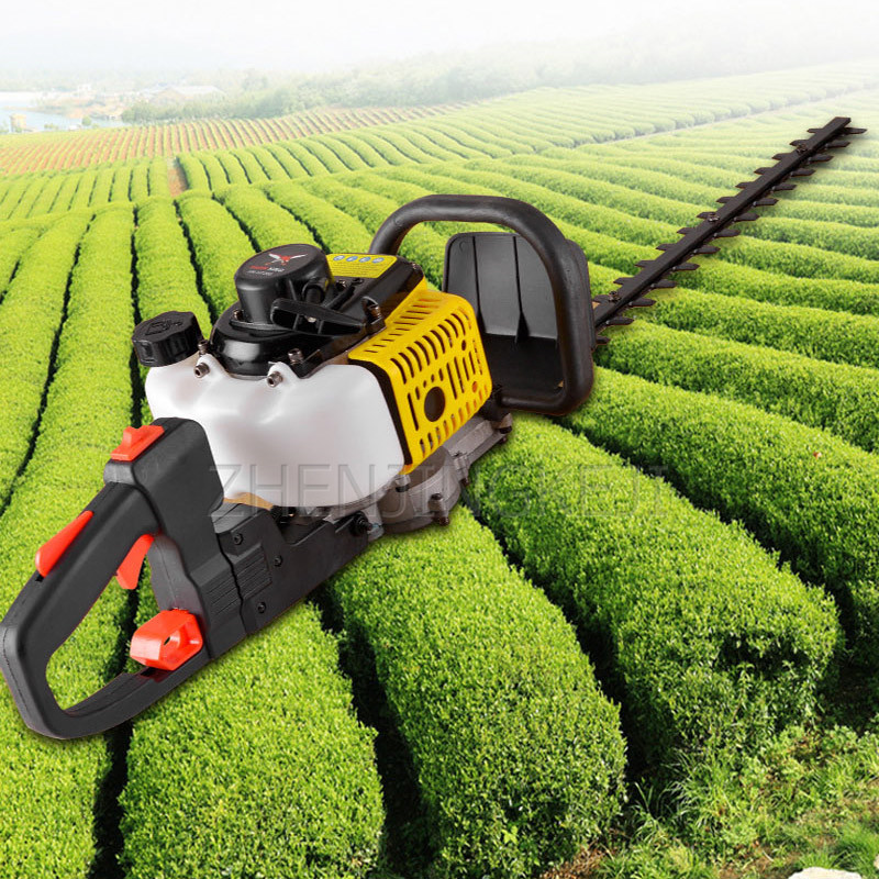 Gasoline Hedge Trimmer Tea Tree Pruning Double-bladed Branch Shears Knapsack Pruning Shears Repair Equipment Garden Power Tools