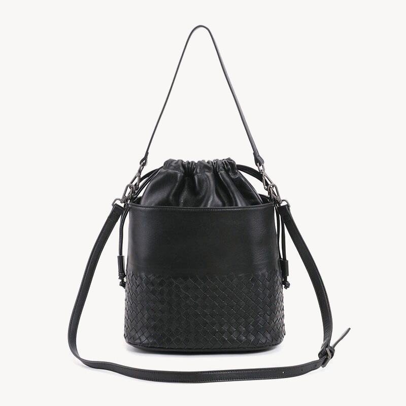 Peau de mouton en cuir bandoulière femmes à la main sac seau mode sacs à bandoulière sacs à main de luxe femmes sacs concepteur