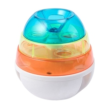 Tumbler Pet Toy Cat Dog Automatic Leakage Dispenser Ball Slow Food Dogs Toys For Pets IQ Training