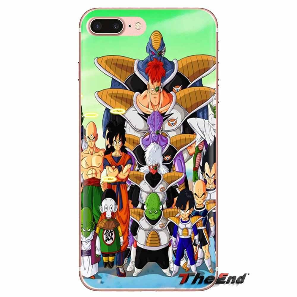 Japón Anime dibujos animados Dragon Ball Z suave TPU funda para Xiaomi Mi3 Samsung A10 A30 A40 A50 A60 A70 Galaxy s2 nota 2 gran Core Prime