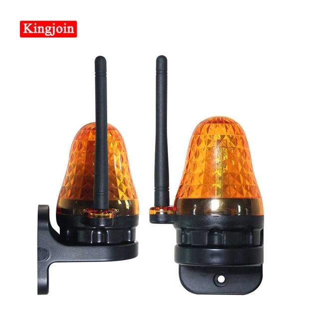 Uniwersalna lampa alarmowa LED 12V 220V zewnętrzna lampa alarmowa stroboskop migająca awaryjna lampka ostrzegawcza do montażu ściennego do automatycznego otwieracz bramy
