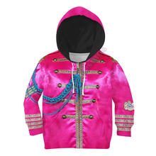 Розовый Красный рыцарский костюм толстовки с 3d принтом одежда