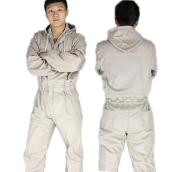 2020Plus Size Mannen Hooded Overalls Mannelijke Werkkleding Uniformen Werknemer Reparateur Mechanische Auto Reparatie Rits Jumpsuit Zanger Kostuum