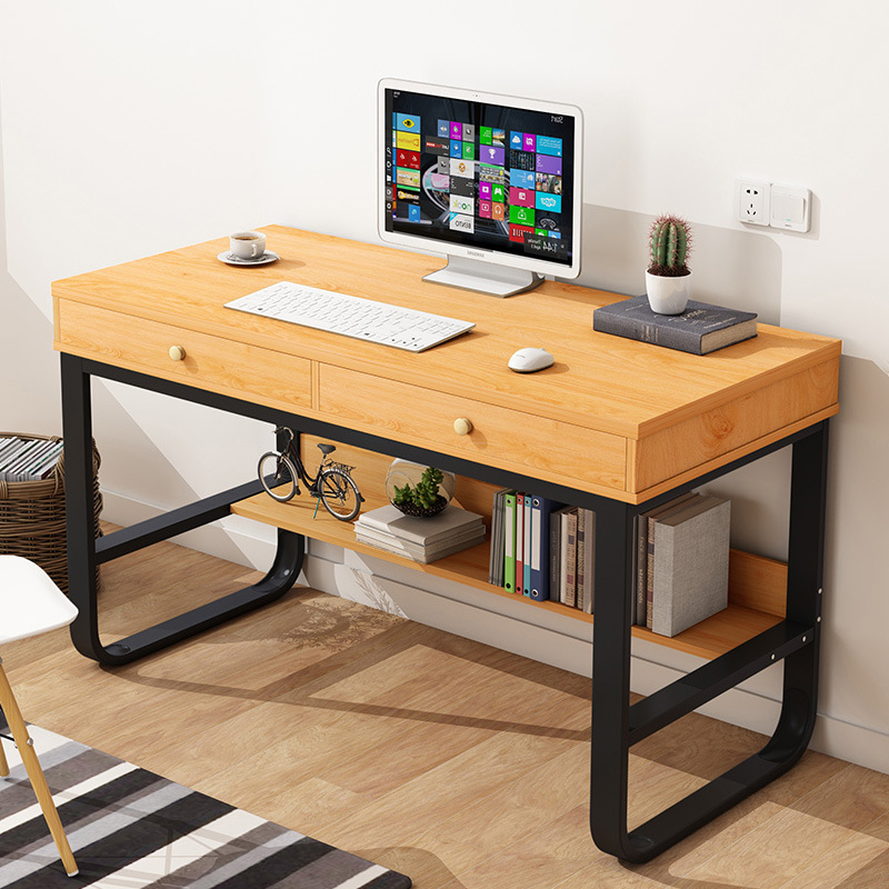 Home Desktop Computer Desk Bedroom Modern Minimalist Single Person Simplicity Office Desk Multi-functional Small Writing Desk