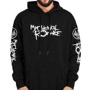Image 1 - My Chemical Romance Hoodies Schwarz Parade Punk Emo Rock Hoodie Mode Herbst Sweatshirts Herbst Winter Mantel