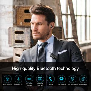 Image 5 - Fineblue F990 Newest Wireless business Bluetooth Headset Sport Driver Earphone Telescopic Clip on stereo earbud Vibration Luxury