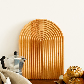 Chopping Board Wood Fruits and Vegetables Cutting Board Cheese Board Cake Sushi Tray Plates Creative Kitchen Tools