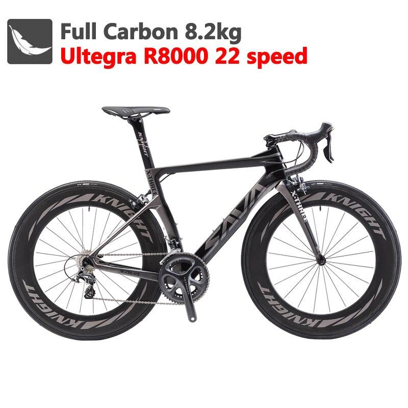 carbon fiber road bike 700c racing road bike full carbon complete road bike(China)