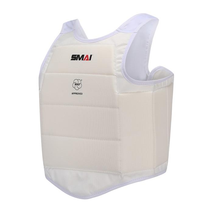WKF Сертификация SMAI каратэ защита для груди Экстрим каратэ  защита для груди для бокса защита для груди каратэПрочие продукты для  фитнеса и бодибилдинга